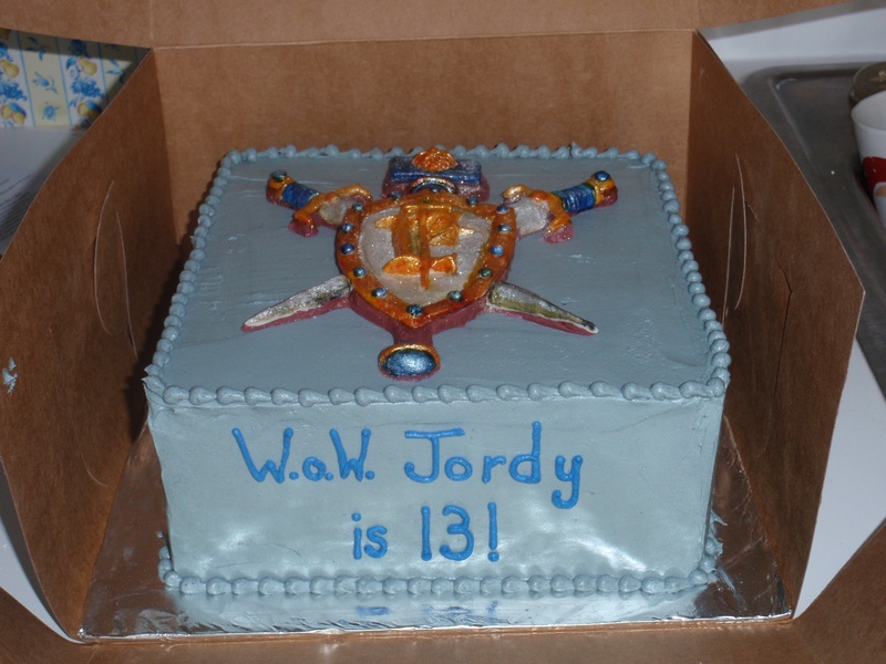World of Warcraft Cake - The Cake Lady